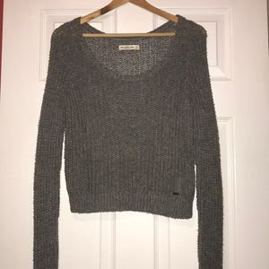 Abercrombie and Fitch crop top sweater